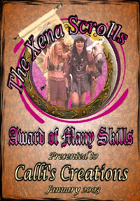 Click here to go to The Xena Scrolls